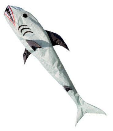 Grey Shark Windsock - Wind Creations