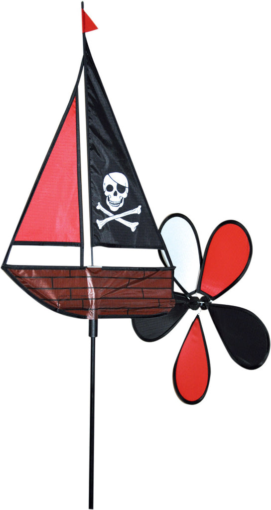 Pirate Boat Windspinner - Wind Creations