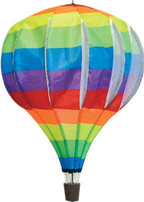 Large Hot Air Balloon Spinner - Rainbow - Wind Creations - 1