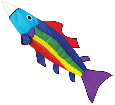 Rainbow Fish Windsock - Wind Creations