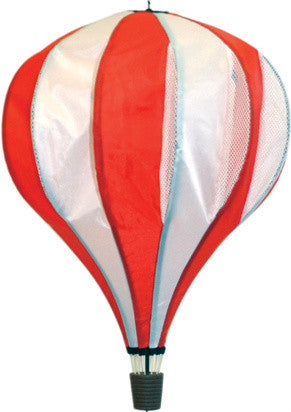 Large Hot Air Balloon Spinner - Red - Wind Creations - 1