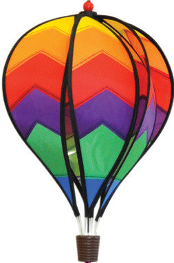 Small Hot Air Balloon Spinner - Spectrum - Wind Creations - 1