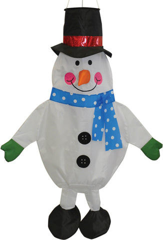 Snowman Windsock - Wind Creations