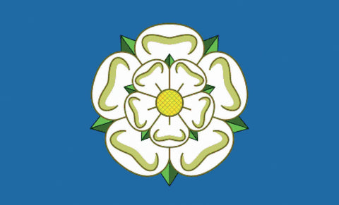 Yorkshire Rose Flag - Wind Creations