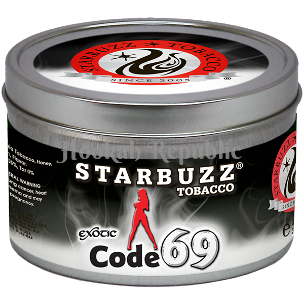 Shop Starbuzz Code 69 Shisha Hookah Tobacco for sale online