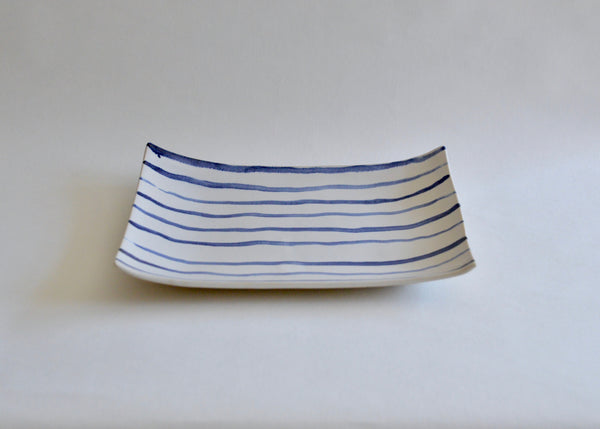 Blue and White platter I