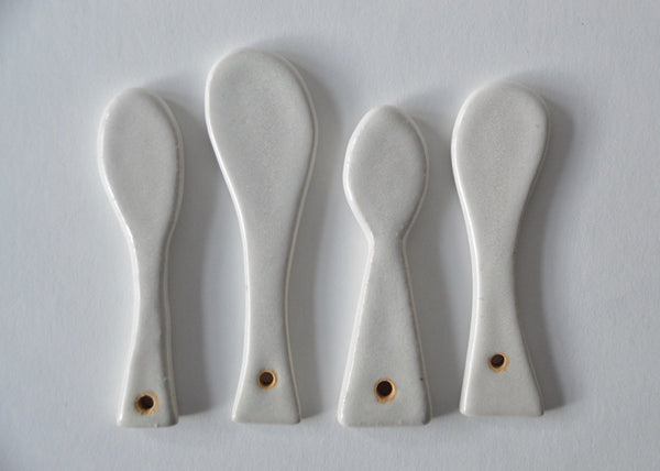 Condiment spoon III ~ third from left