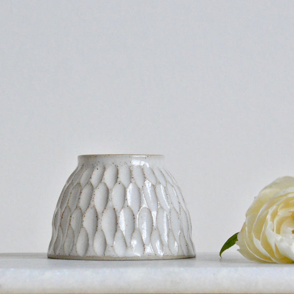 Faceted bud vase ~ **Seconds**