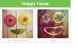Happy Faces range