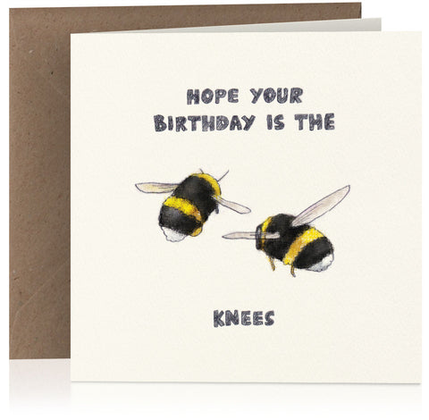 Bees' knees birthday x 6