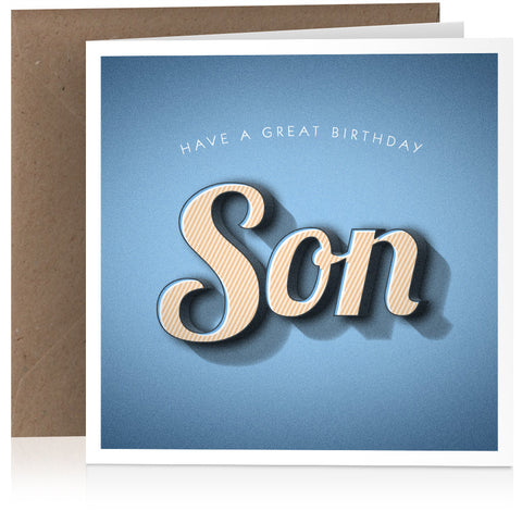 Son (great birthday) x 6