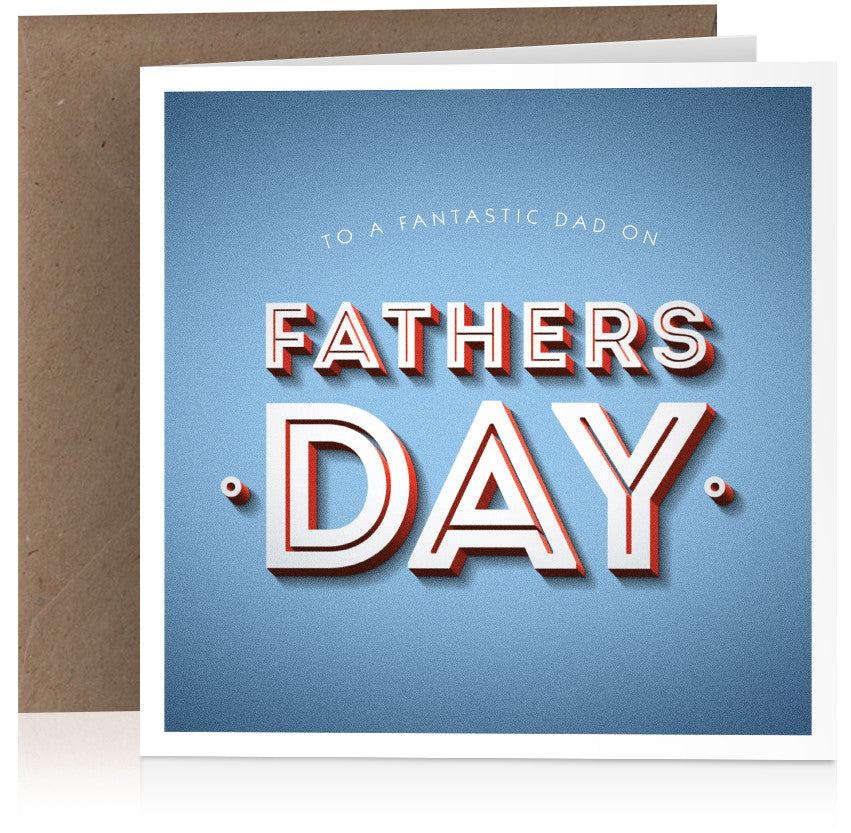 Fathers Day (fantastic dad) x 6