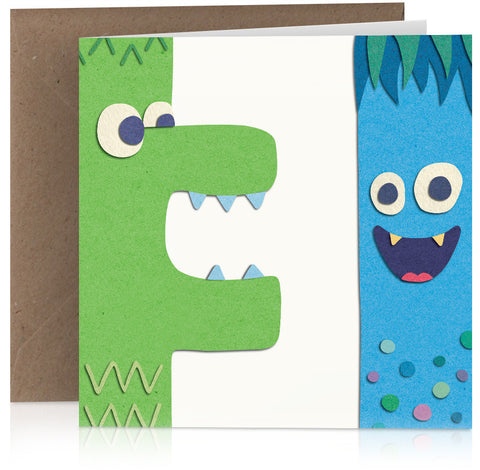 Croc and monster (three) x 6
