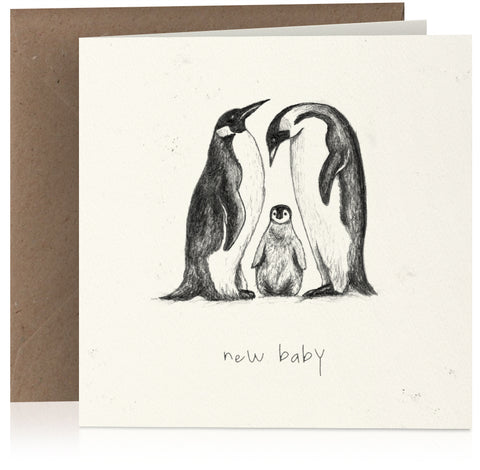New baby penguin x 6