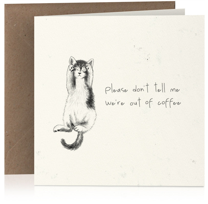 Coffee cat x 6