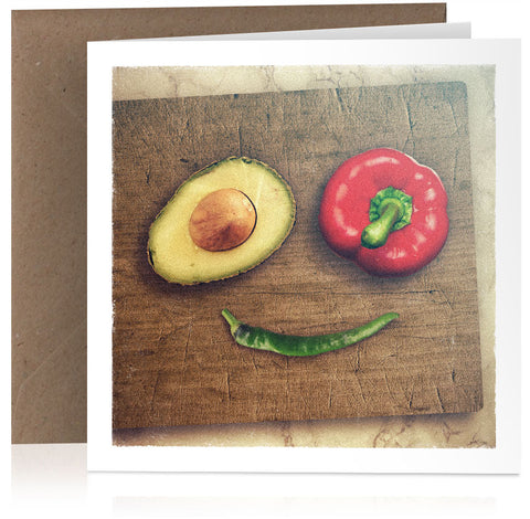 Avocado, pepper and chilli x 6