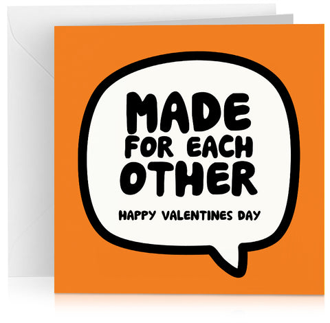 Made for each other (Valentines) x 6