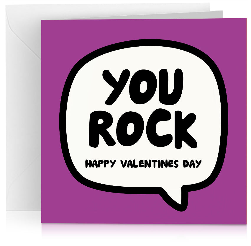 You rock (Valentines) x 6