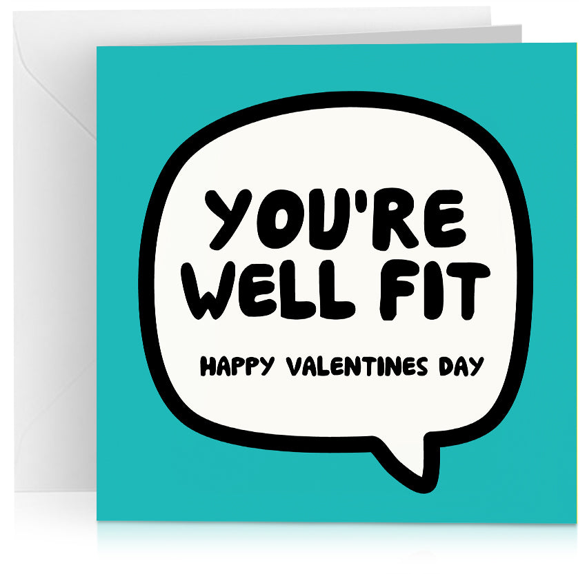 Well fit (Valentines) x 6