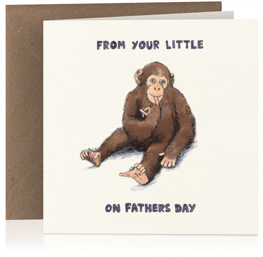Little monkey (Fathers Day) x 6