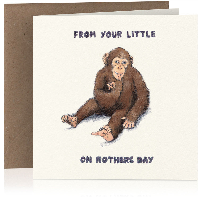 Little monkey (Mothers Day) x 6