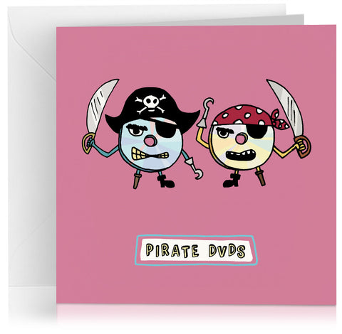 Pirate DVDs x 6