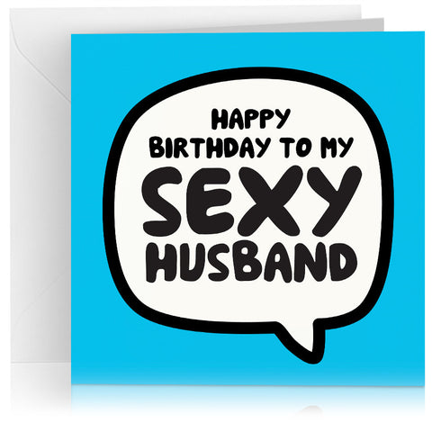 Sexy husband (birthday) x 6