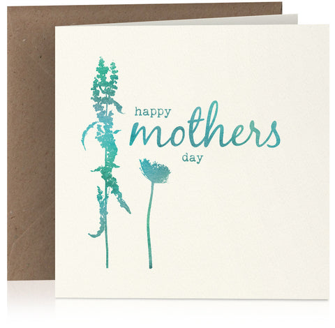 Mothers Day (teal) x 6