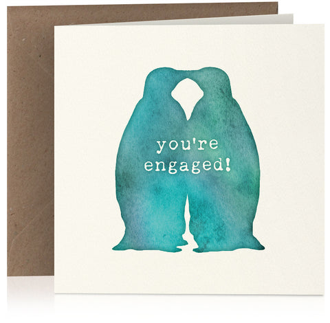 Engaged penguins x 6