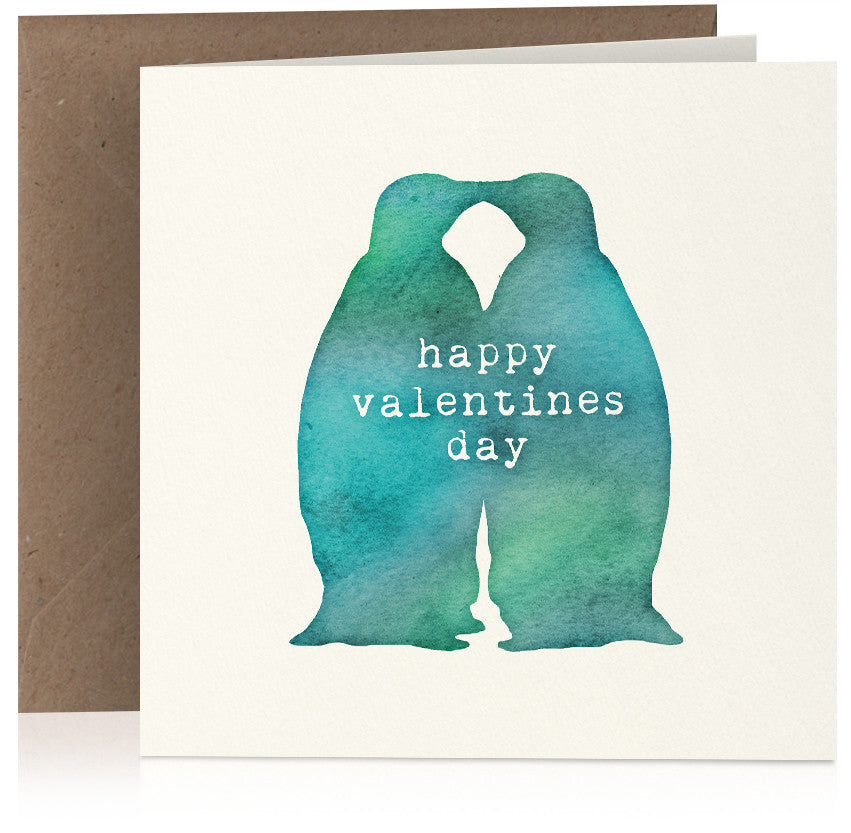 Valentines penguins x 6