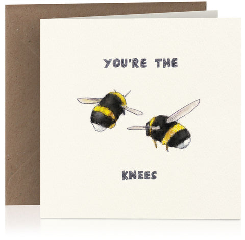 You're the bees' knees x 6
