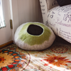 Image of Kittycentric Cozy Cat Cave (Light Tan/Green)
