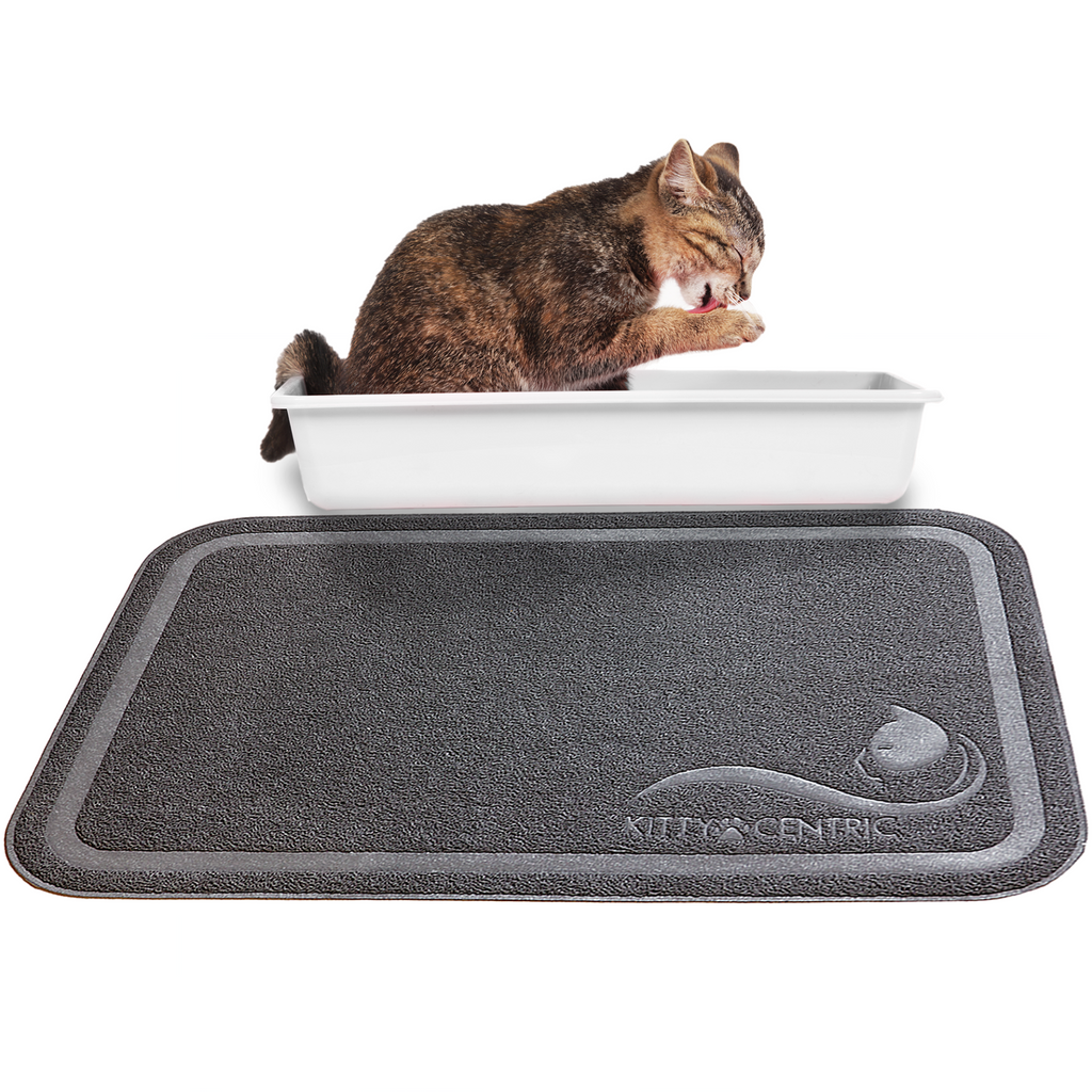 Kittycentric Litter Mat (Dark Grey)