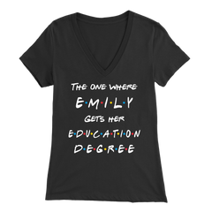Emily Friends Bella V-Neck Tee