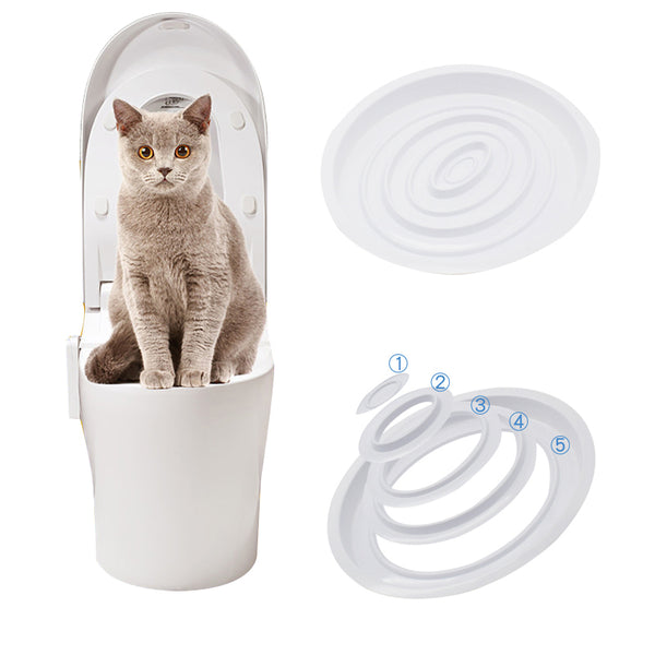 Cat Toilet Training Kit System