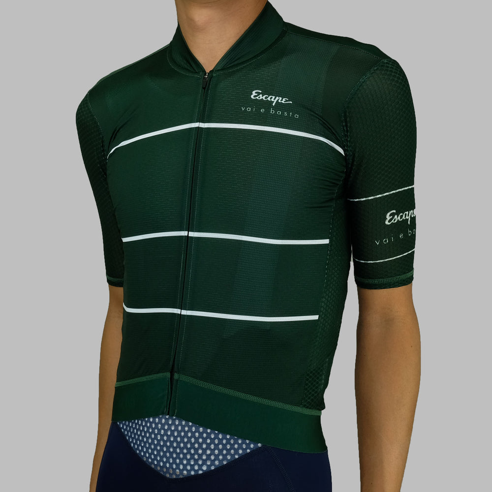 Stripe ultra Soloist Jersey - Dark Green