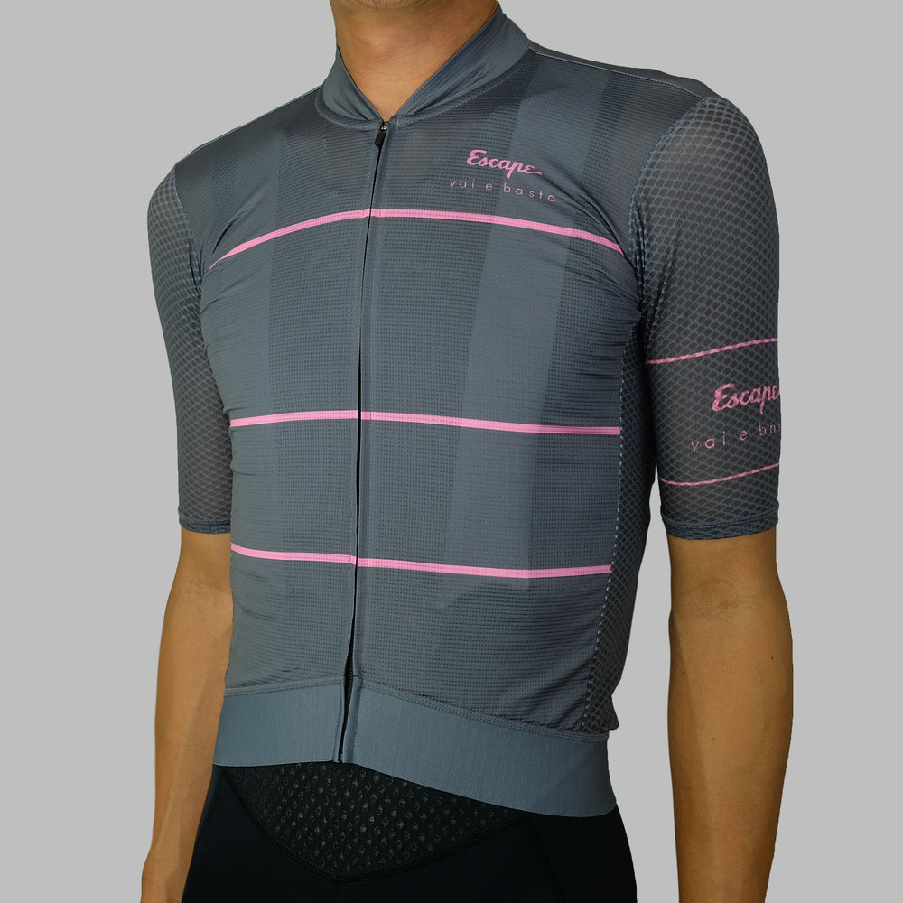 Stripe Ultra Soloist Jersey - Dark Grey