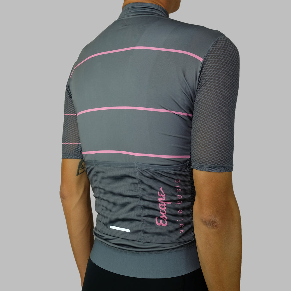 Load image into Gallery viewer, Stripe Ultra Soloist Jersey - Dark Grey
