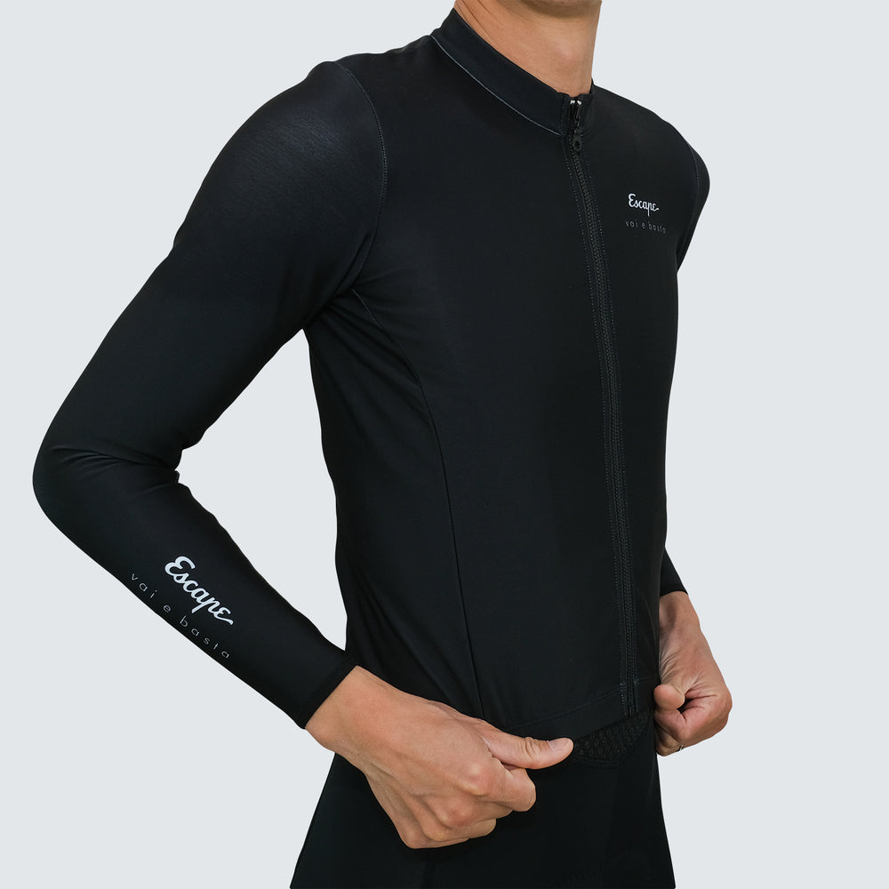 Load image into Gallery viewer, ESCAPE THERMAL JERSEY - BLACK