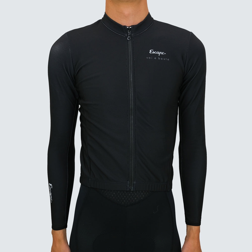 ESCAPE THERMAL JERSEY - BLACK