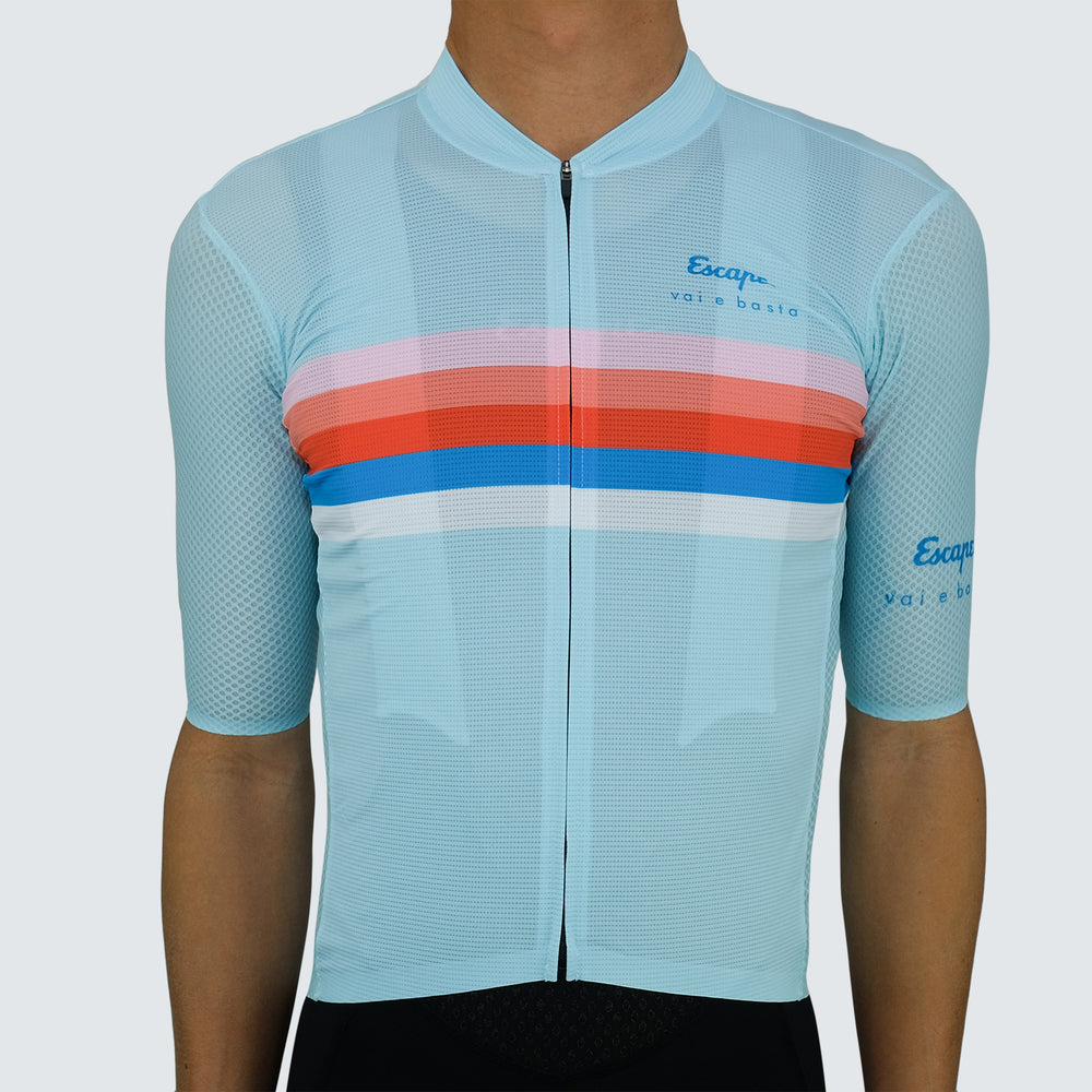Race Jersey - Stripe Mint
