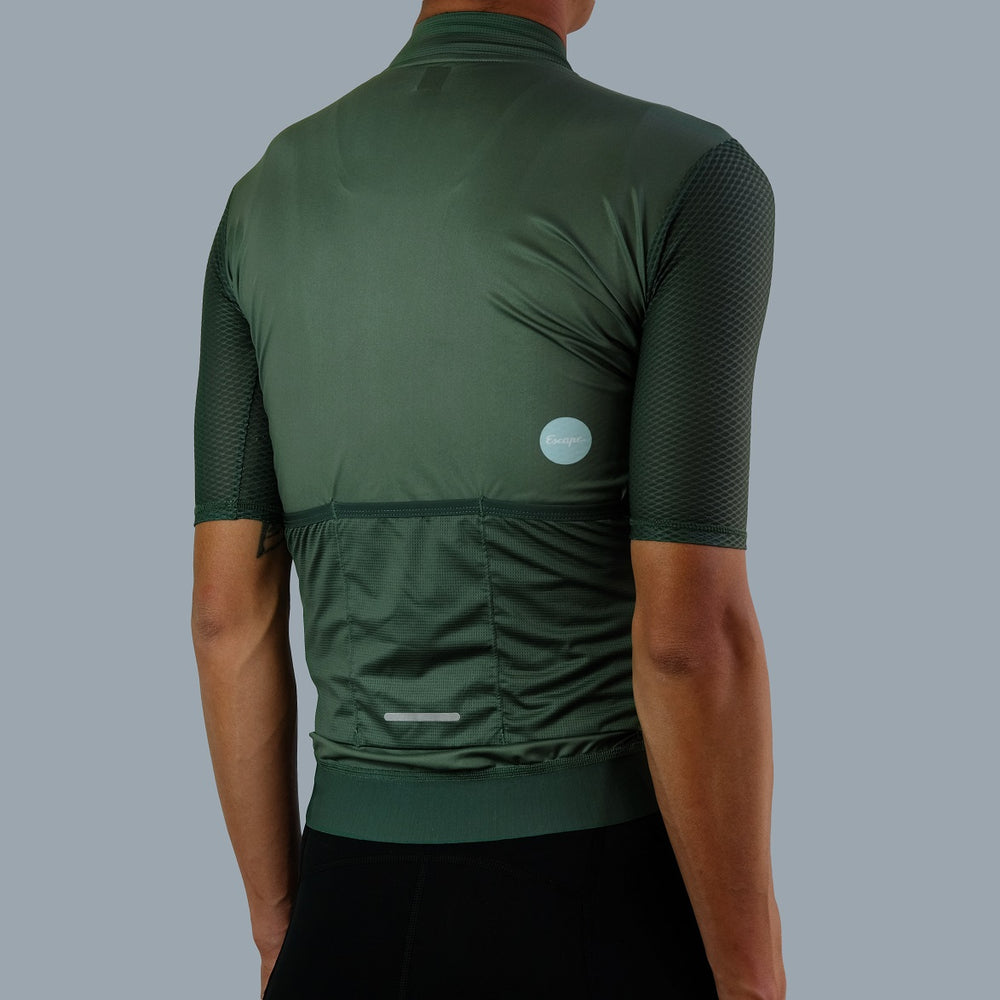 Load image into Gallery viewer, Ultra Soloist Jersey - Dark Leaf Green