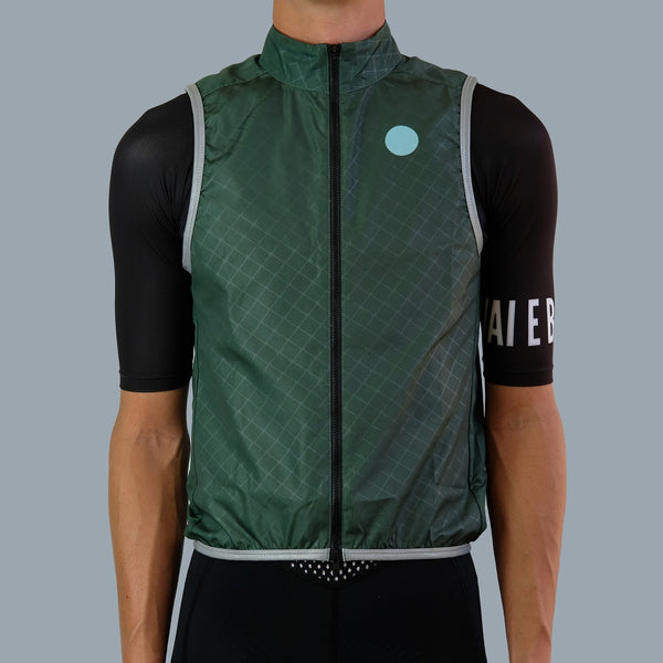 Key Wind Gilet - Dark Leaf Green