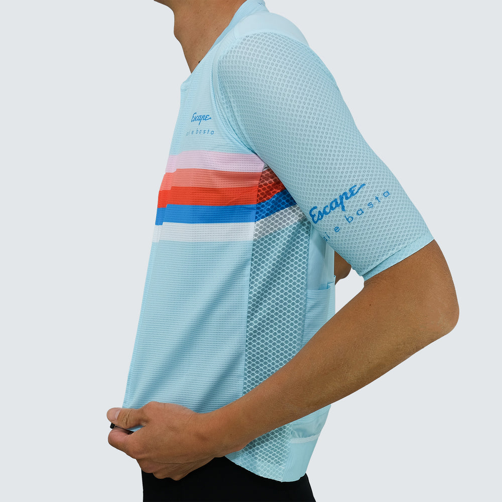 Load image into Gallery viewer, Race Jersey - Stripe Mint