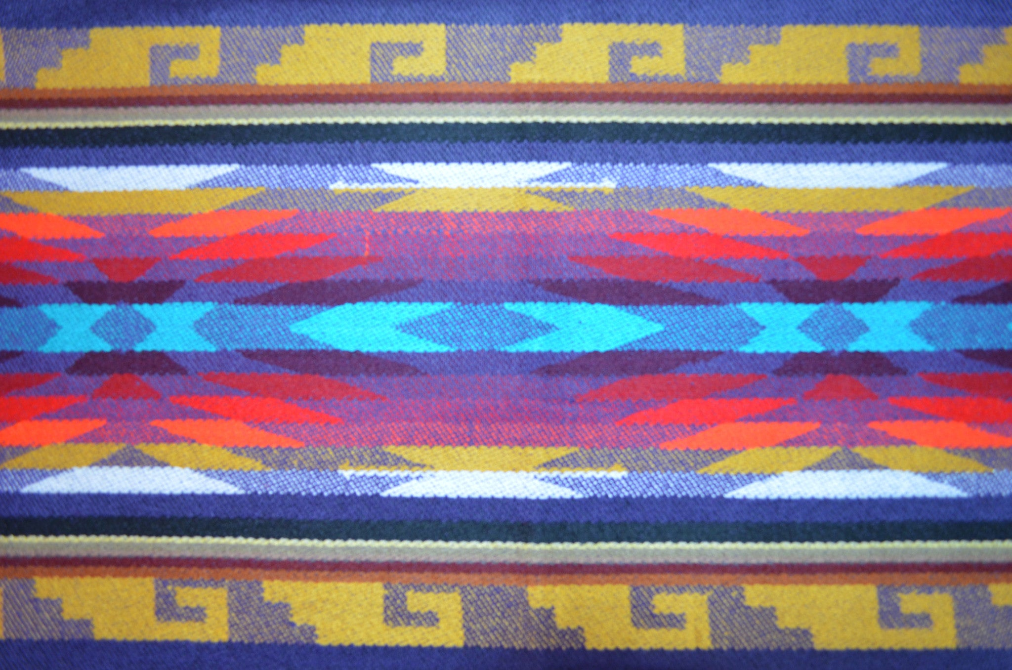 OTAVALO SHAWL - BUTTERFLY PURPLE