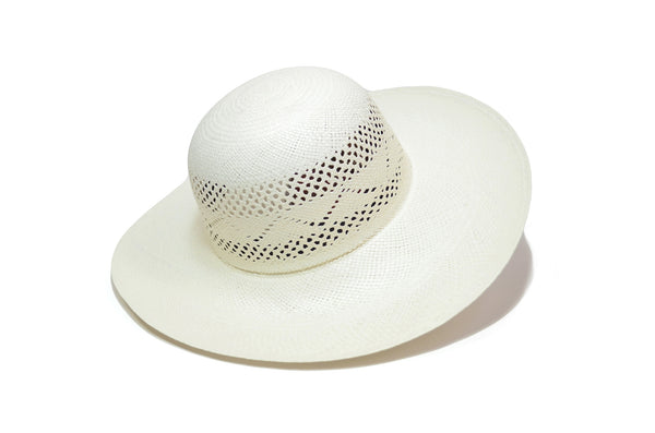 TOQUILLA STRAW ENDLESS SUMMER HAT - WIDE BRIM PANAMA HAT (NATURAL COLOR)