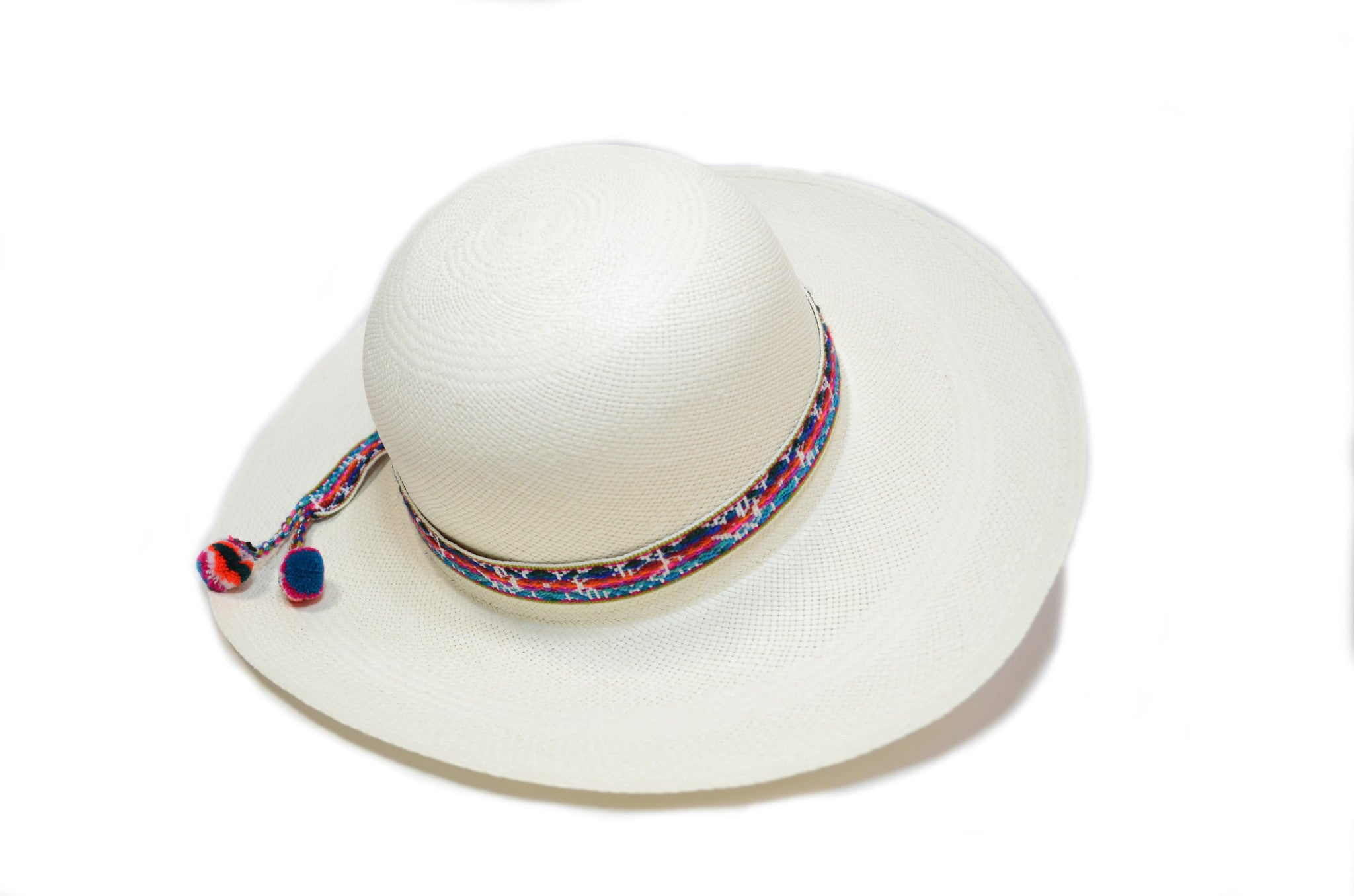 c8376aecc274 TOQUILLA STRAW CLASSY HAT - WIDE BRIM PANAMA HAT (WHITE COLOR) – The  Artisan Project