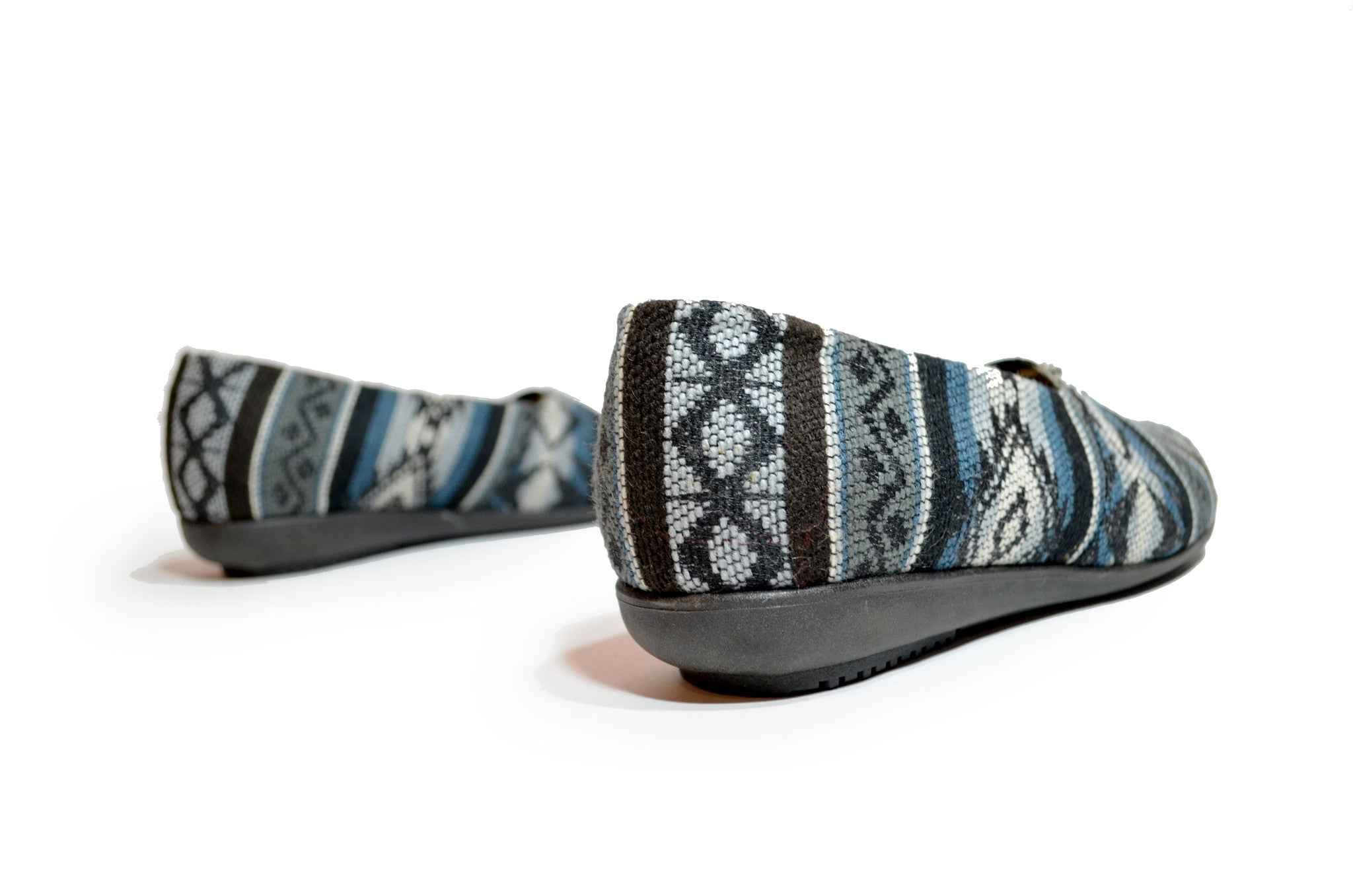 CHIBU SLIP ON SHOES - BLUE NIGHT