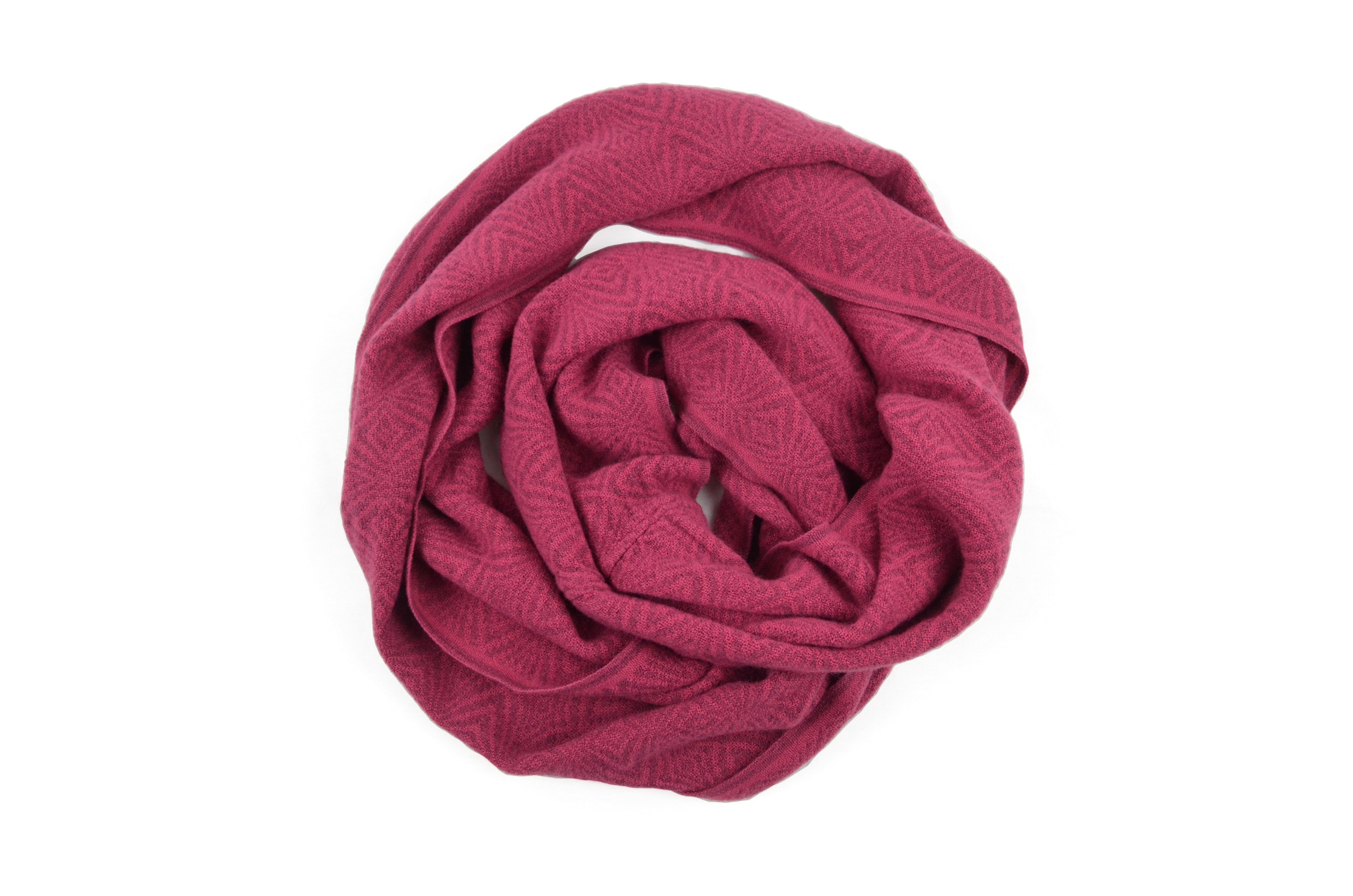 INFINITY SCARF - ROSEWOOD