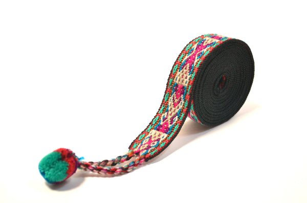 Handwoven colorful headband